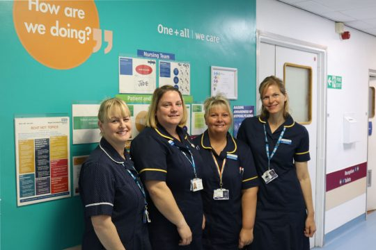 Specialist diabetes nurses helping to reduce length of hospital stays