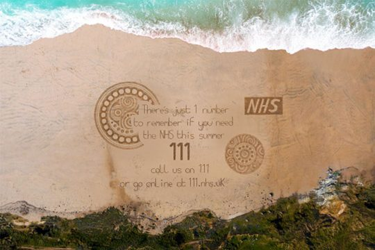 Call us on NHS 111 or go online to 111.nhs.uk if you need NHS help this summer.