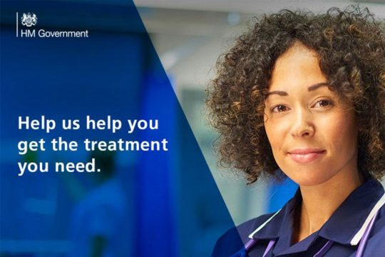 Help us help you get the treatment you need.